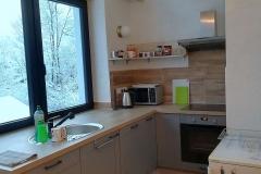 Apartmán - kuchynská časť (kitchen)